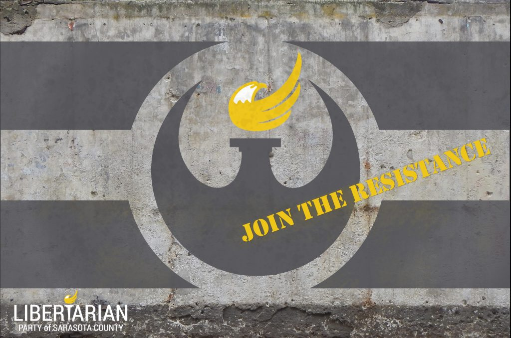 The Libertarian Party of Sarasota County Needs YOU!